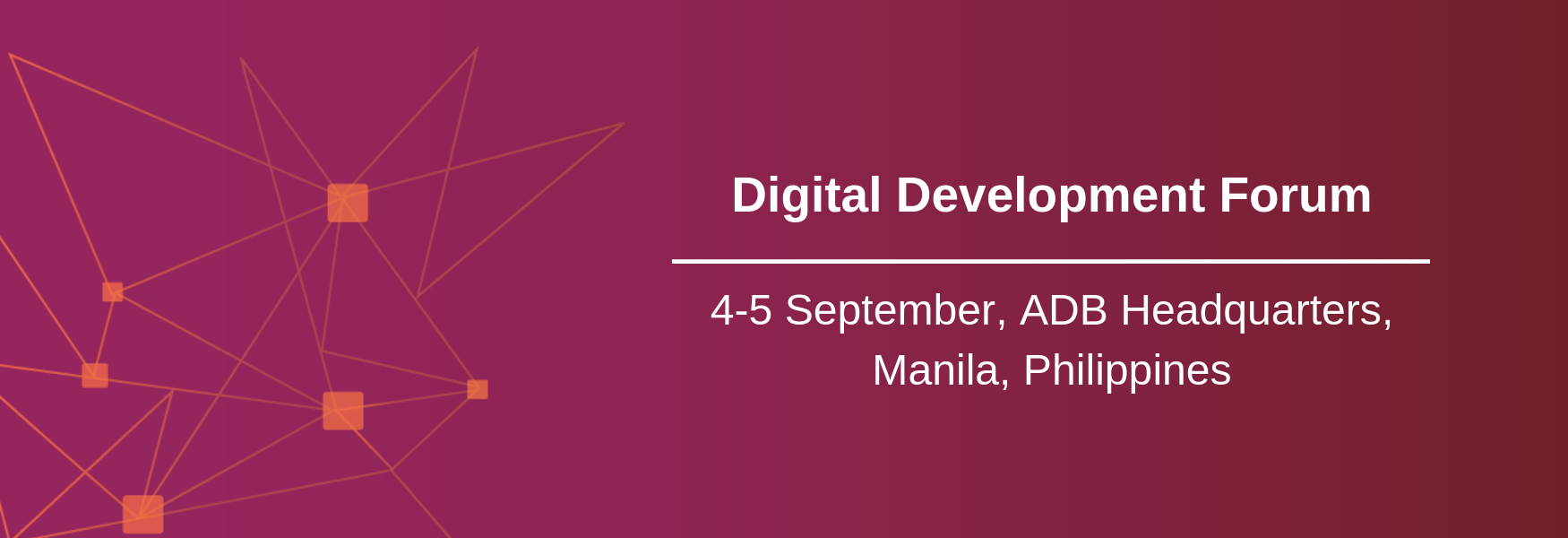 Digital Development Forum