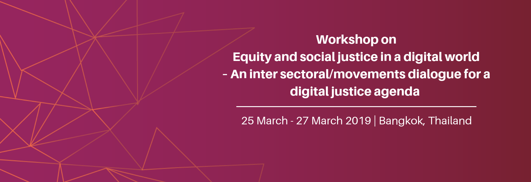 Digital Justice Workshop