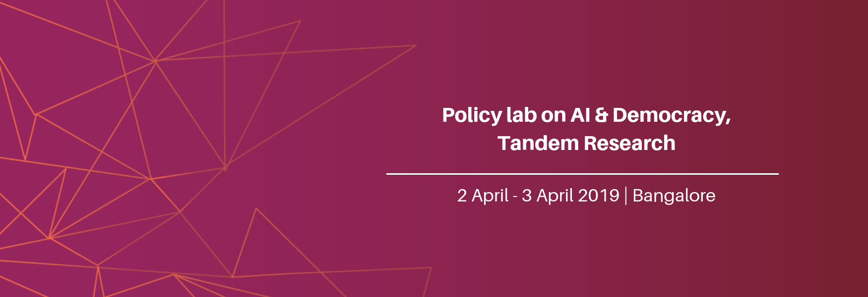 Policy lab on AI & Democracy