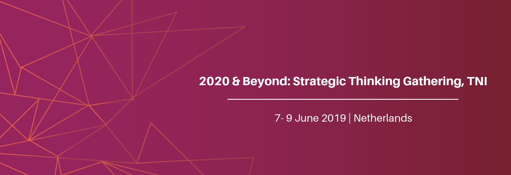 2020 & Beyond: Strategic Thinking Gathering