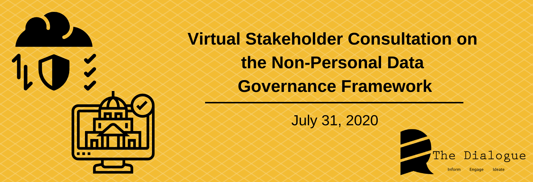Virtual Stakeholder Consultation on Non-Personal Data Governance