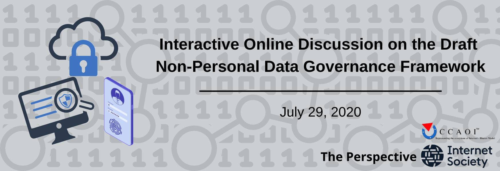 Interactive Online Discussion on the Draft Non-Personal Data Governance Framework