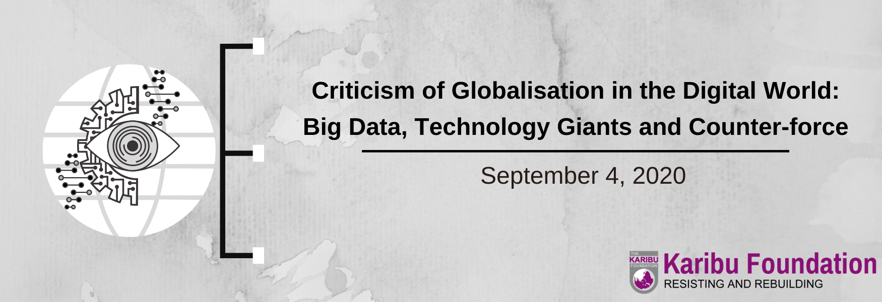 Criticism of Globalisation in the Digital World: Big Data, Technology Giants and Counter-force