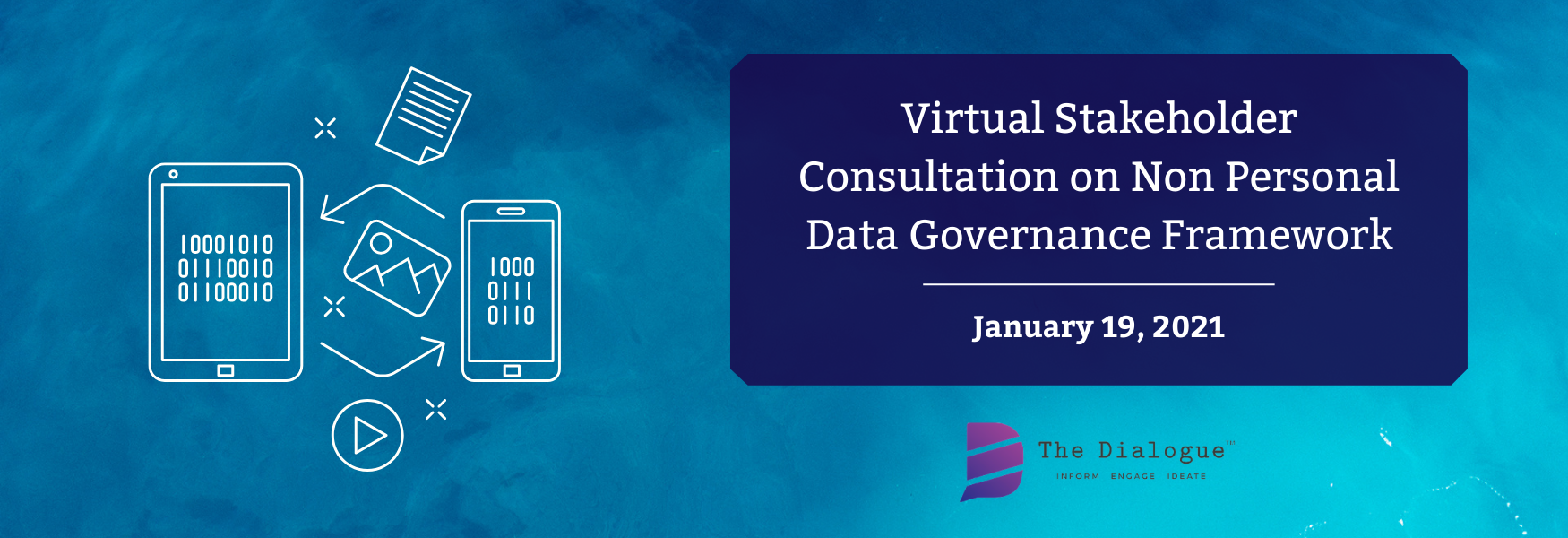 Virtual Stakeholder Consultation on Non Personal Data Governance Framework
