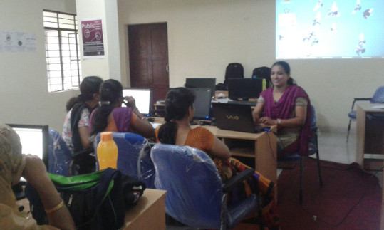 OER adoption in Bengaluru South 3 - TCOL Maths Workshop at GHS Adugodi