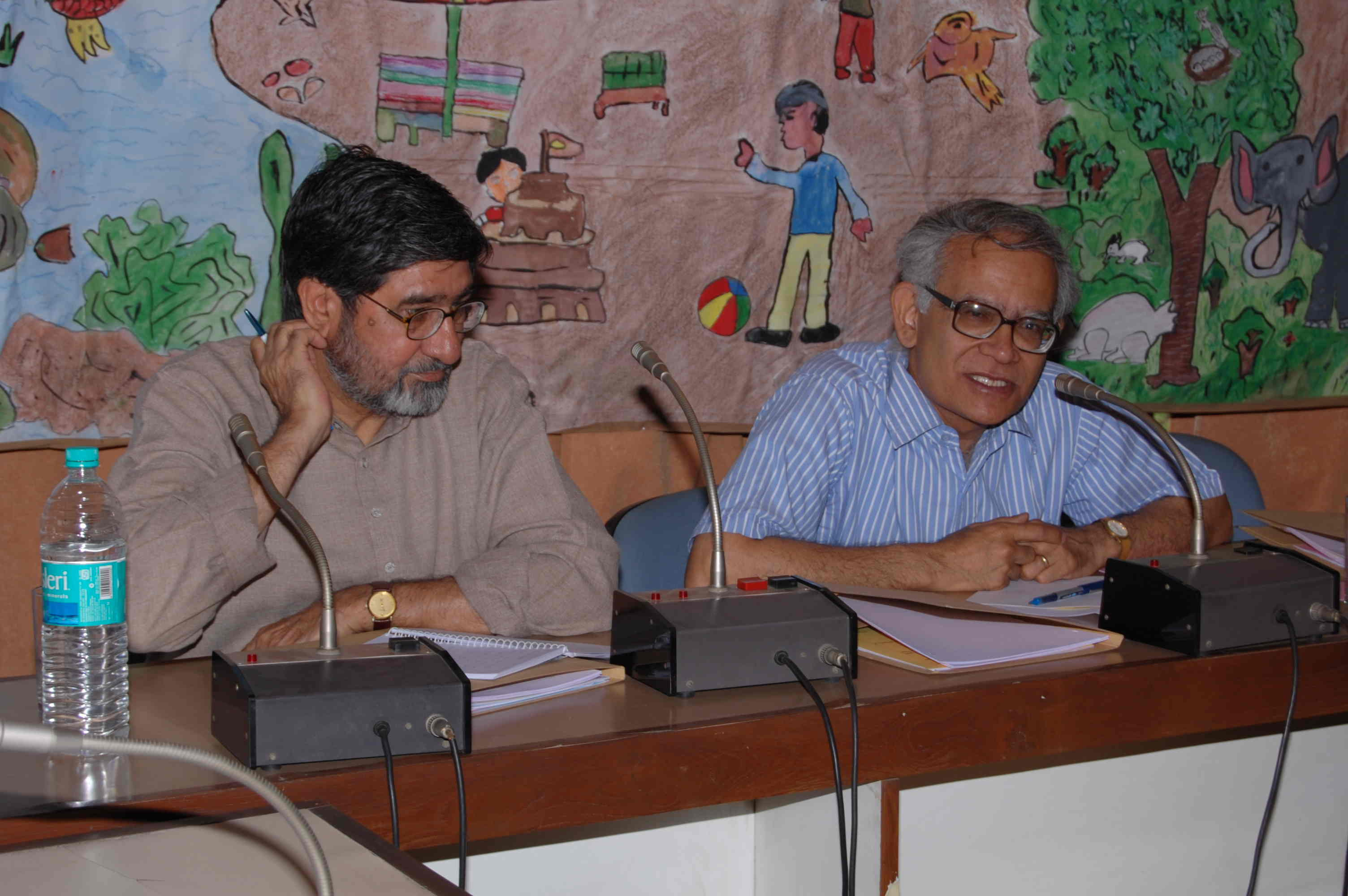 Consultation on ICT policy in Education at NCERT, April 2008