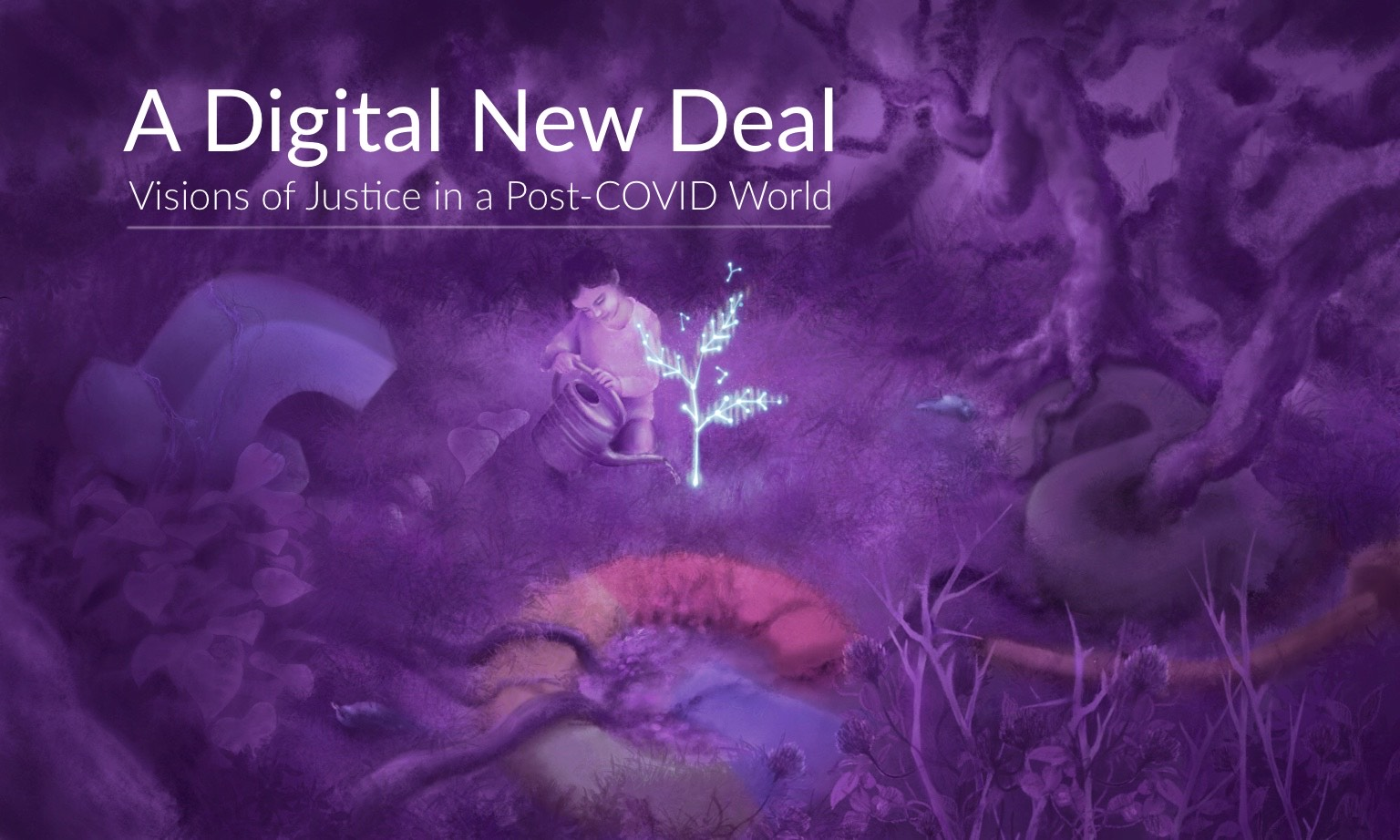 Banner for A Digital New Deal