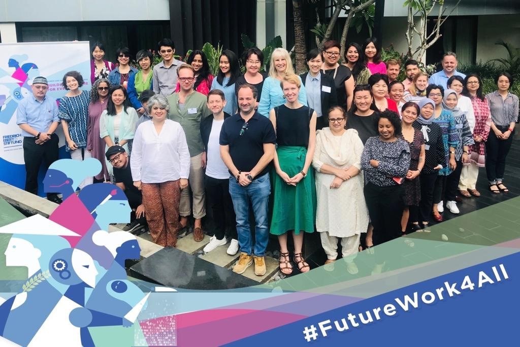 FES Future of work group photo