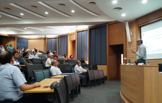 Parminder Jeet Singh's delivers a talk on 'Digital Data - The New Raw Material in the Globalising Economy' at the Centre for Policy Studies, Indian Institute of Technology Bombay. SHOW MORE