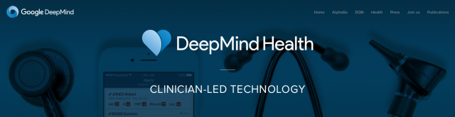 Deepmind and NHS